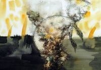 The Summer Ends No.6 by Cai Jiarui contemporary artwork painting, works on paper