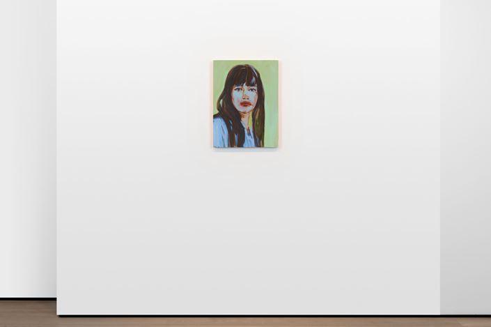 Exhibition view: Claire Tabouret,Portraits, Almine Rech, London (2 October–16 November 2019). Courtesy the Artist and Almine Rech. Photo © Melissa Castro Duarte.
