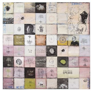 I, Small Transient Being by Imants Tillers contemporary artwork
