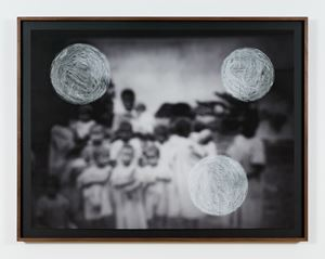 Untitled, from white ethnography series by Paulo Nazareth contemporary artwork
