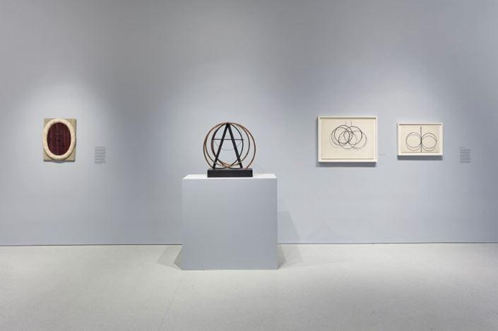Exhibition view: Man Ray,The Mysteries of Château du Dé, Gagosian, San Francisco (14 January–29 February 2020). Artwork © Man Ray Trust/Artists Rights Society (ARS), New York/ADAGP, Paris, 2020. Courtesy Gagosian. Photo: Johnna Arnold.