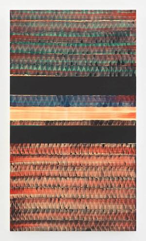 A AMBOS LADOS (MAR NEGRO) by Juan Uslé contemporary artwork