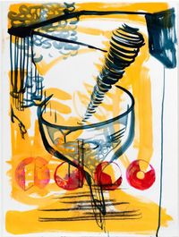 Funneling by Jihyun Lee contemporary artwork painting, works on paper, drawing