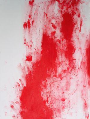 Red Line XXII by Chiharu Shiota contemporary artwork