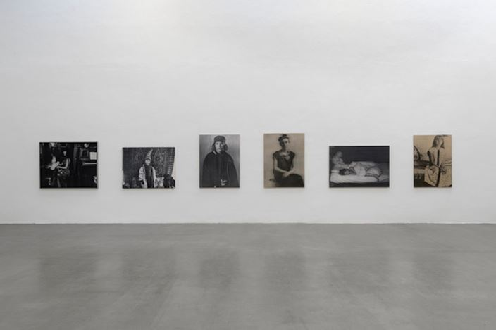Exhibition view: Annelies Štrba, ICONS. Works 1977–2017. Galerie EIGEN + Art, Leipzig (17 February–31 March 2018). Courtesy Galerie EIGEN + Art, Leipzig. Photo: Uwe Walter.