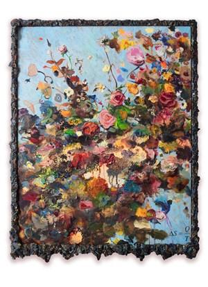 Entropy by Keith Tyson contemporary artwork