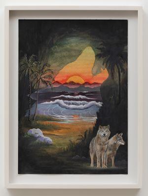 Wolf Cave by Neil Raitt contemporary artwork