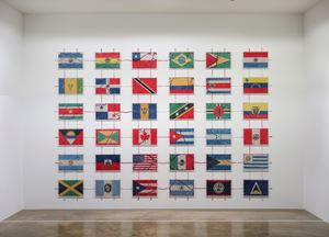 America by Yukinori Yanagi contemporary artwork