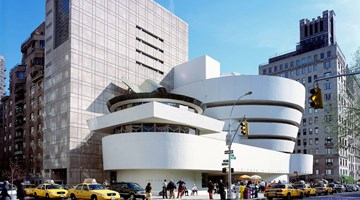 Solomon R. Guggenheim Museum contemporary art institution in New York, USA