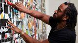 Contemporary art exhibition, Rashid Johnson, Waves at Hauser & Wirth, London, United Kingdom
