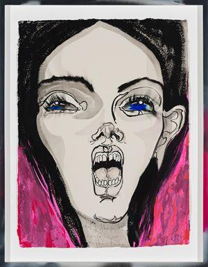 i care mutha fucka by Del Kathryn Barton contemporary artwork