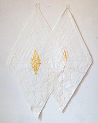Luz dourada by Karin Lambrecht contemporary artwork mixed media