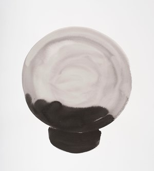 Crystal Ball Work on Paper #4 by Michelle Charles contemporary artwork
