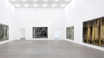 Contemporary art exhibition, Astrid Klein, CUTS at Sprüth Magers, Berlin