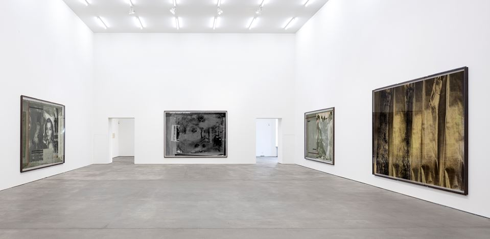 Exhibition view: Astrid Klein, CUTS, Sprüth Magers, Berlin (1 February–6 April 2019). Courtesy Sprüth Magers. Photo: Timo Ohler