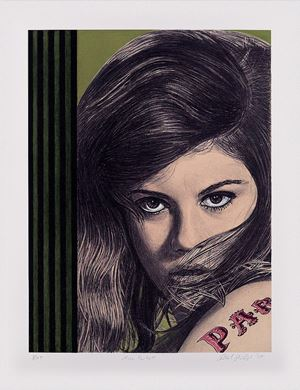 Miss Parkett, 2004 (For Parkett 71) by Richard Phillips contemporary artwork