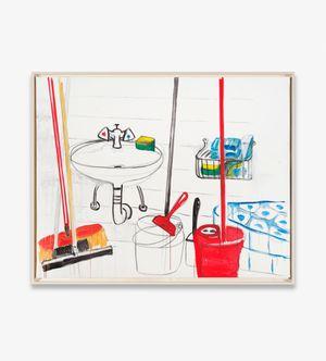 Abstellkammer by Karl Horst Hödicke contemporary artwork