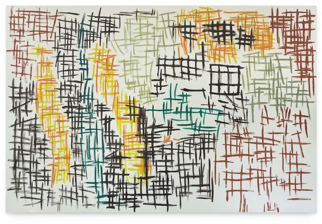 Contemporary art exhibition, Günther Förg, Appearance at Hauser & Wirth, Los Angeles, USA