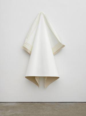 Deflated IV (White) by Angela De La Cruz contemporary artwork