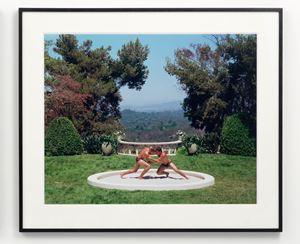 "Agon from ""The Last Days of Pompeii"" by Eleanor Antin contemporary artwork"