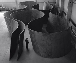 Inside Out by Richard Serra contemporary artwork