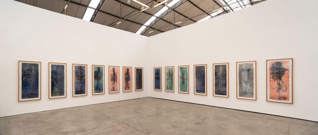 Exhibition view: Nuno Ramos, Brujas, Fortes D'Aloia & Gabriel, São Paulo (6 July–24 August 2021). Courtesy Fortes D'Aloia & Gabriel, São Paulo/Rio de Janeiro.Photo: Eduardo Ortega.