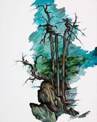 Untitled by Zeng Fanzhi contemporary artwork painting