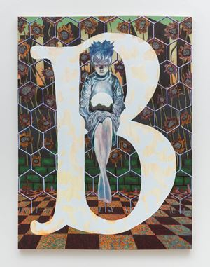 Initial B and the Transformative Power of Symbolism in Storytelling by Joel Dean contemporary artwork