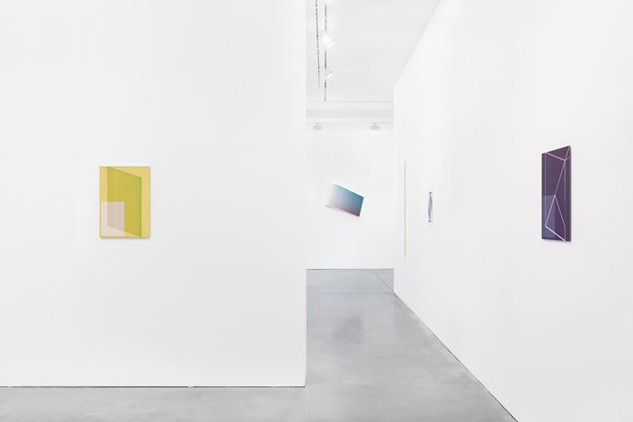 Exhibition view: Jonas Weichsel, Unit, Galerie Thomas Schulte, Berlin (25 July–29 August 2020). Courtesy Galerie Thomas Schulte. Photo:Stefan Haehnel.