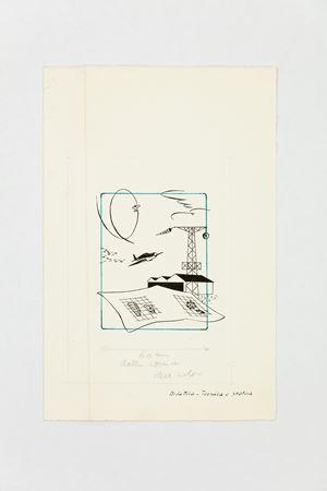 Didattica-tecnica e pratica (Ali d'Italia) by Bruno Munari contemporary artwork
