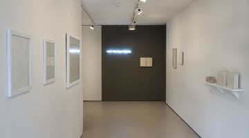 Contemporary art exhibition, Mary-Louise Browne, Maria Colls, Claudia Jowitt, Kazu Nakagawa, Just the right white at Bartley + Company Art, Wellington