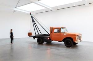 1 Ton Crane Truck by Chris Burden contemporary artwork