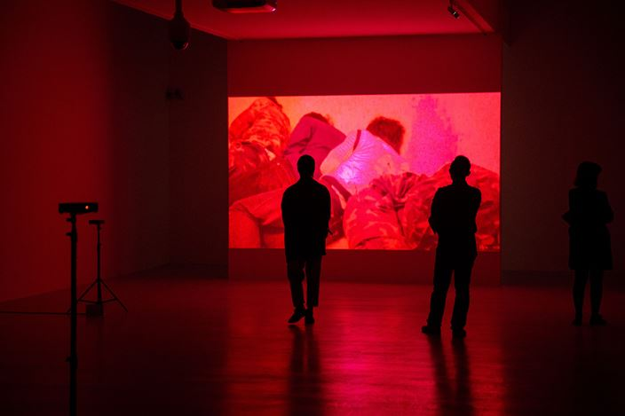 Exhibition view: Apichatpong Weerasethakul, The Serenity of Madness, Taipei Fine Arts Museum, Taipei (30 November 2019–15 March 2020). Courtesy Taipei Fine Arts Museum.