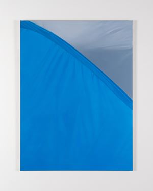 Blue, Grey by Marcel Vidal contemporary artwork painting