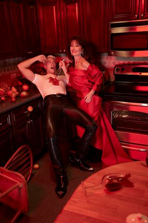 Susan Lucci and Dereck Chadwick by Roe Ethridge contemporary artwork