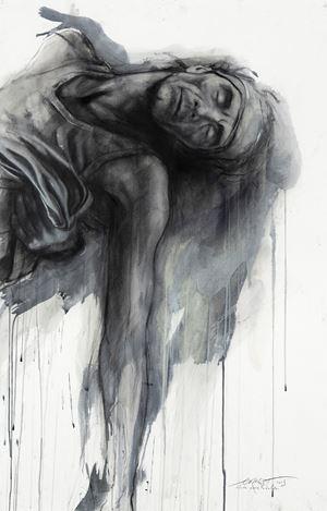 Si je reviens XXXIII by Ernest Pignon-Ernest contemporary artwork