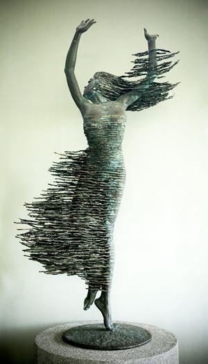Dancing Queen by Nyoman Nuarta contemporary artwork