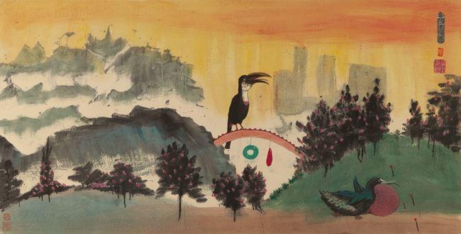 Botanical Garden 《兵頭花園》 by Luis Chan contemporary artwork