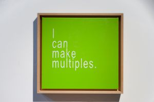 I Can Make Multiples 1 by David Boyce contemporary artwork