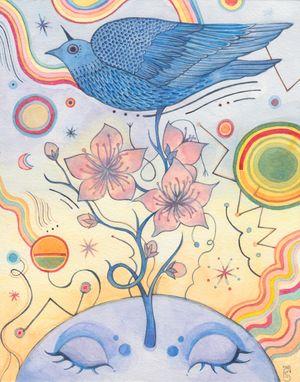 Winter by Charlotte Mui Ngo-Suet contemporary artwork