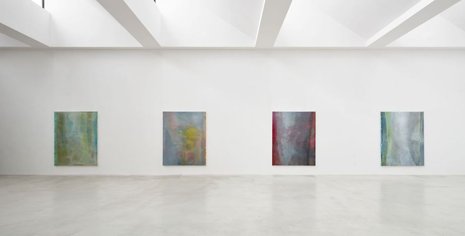 Exhibition view: Angel Vergara, J'efface, et cela apparaît, Axel Vervoordt Gallery, Antwerp (7 March–20 June 2020). Courtesy Axel Vervoordt Gallery.