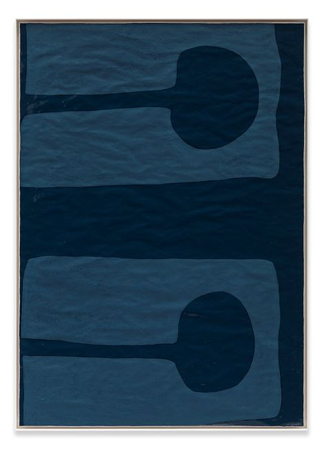Life Jacket by Gary Hume contemporary artwork
