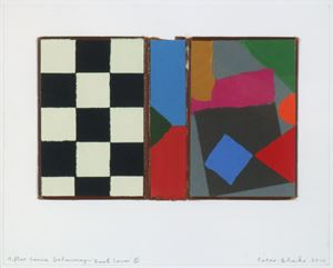After Sonia Delaunay – 'Book Cover' 5 by Peter Blake contemporary artwork