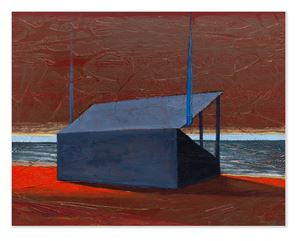 The Beach by Derek Cowie contemporary artwork