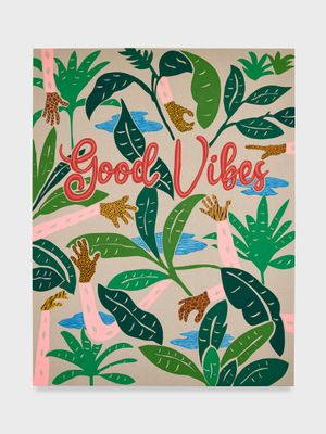 Untitled (Good Vibes) by Joel Mesler contemporary artwork