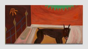 Canine by Marcus Jahmal contemporary artwork