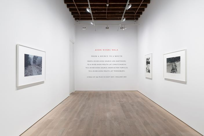 Installation view of Richard Long at Lisson Gallery, Shanghai, 20 September - 26 October 2019. Courtesy Lisson Gallery.