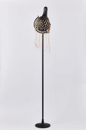 un voile with pillar by Nolan Oswald Dennis contemporary artwork sculpture