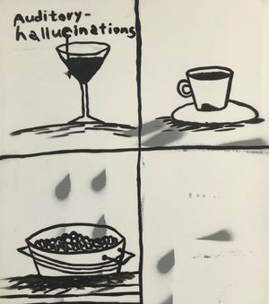Auditory - hallucinations by Rae Sim contemporary artwork