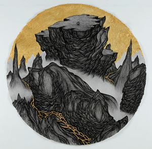 Cliffs & Gully : Buddha on the Top by Yao Jui-chung contemporary artwork